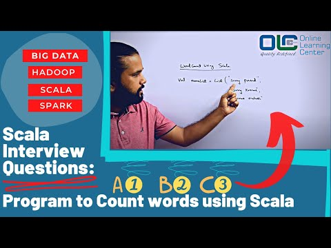 Scala Interview Questions   Write a program to count words using Scala   Hadoop   Scala Interview