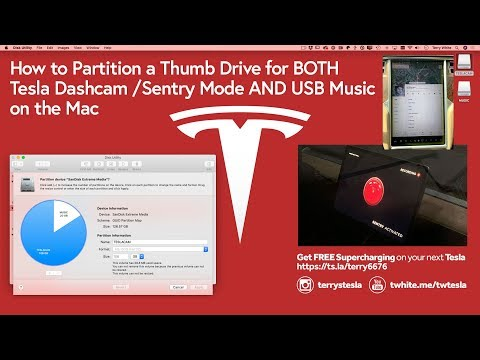 How Partition A Thumb Drive On The Mac For Tesla Dashcam And USB Music