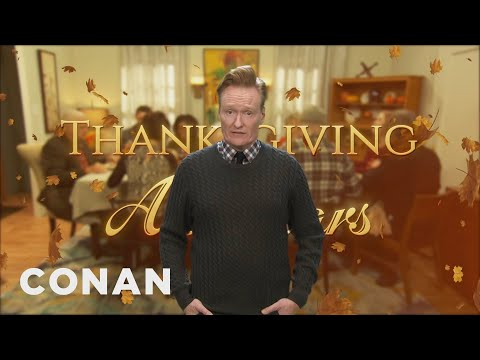 The All-Stars Of The Thanksgiving Dinner Table - CONAN On TBS