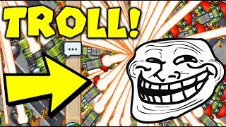 COPY EVERYTHING Troll Challenge Goes LATEGAME! 😎 Copy Cat Challenge - Bloons TD Battles