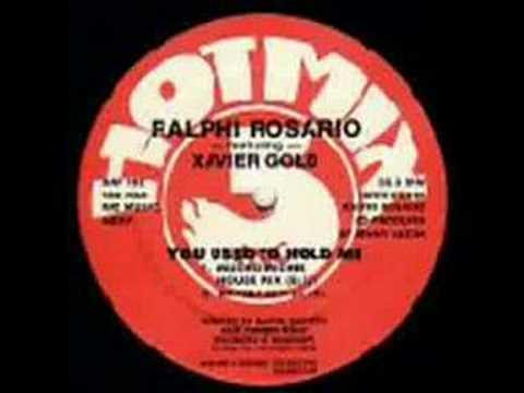 Ralphi Rosario  You Used To Hold Me Kennys Mix