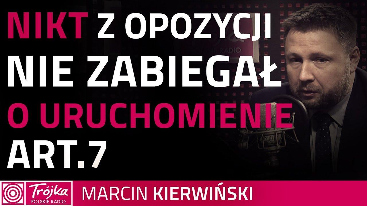 Kierwiński: UE reaguje na to, co polski rząd robi z polskimi obywatelami