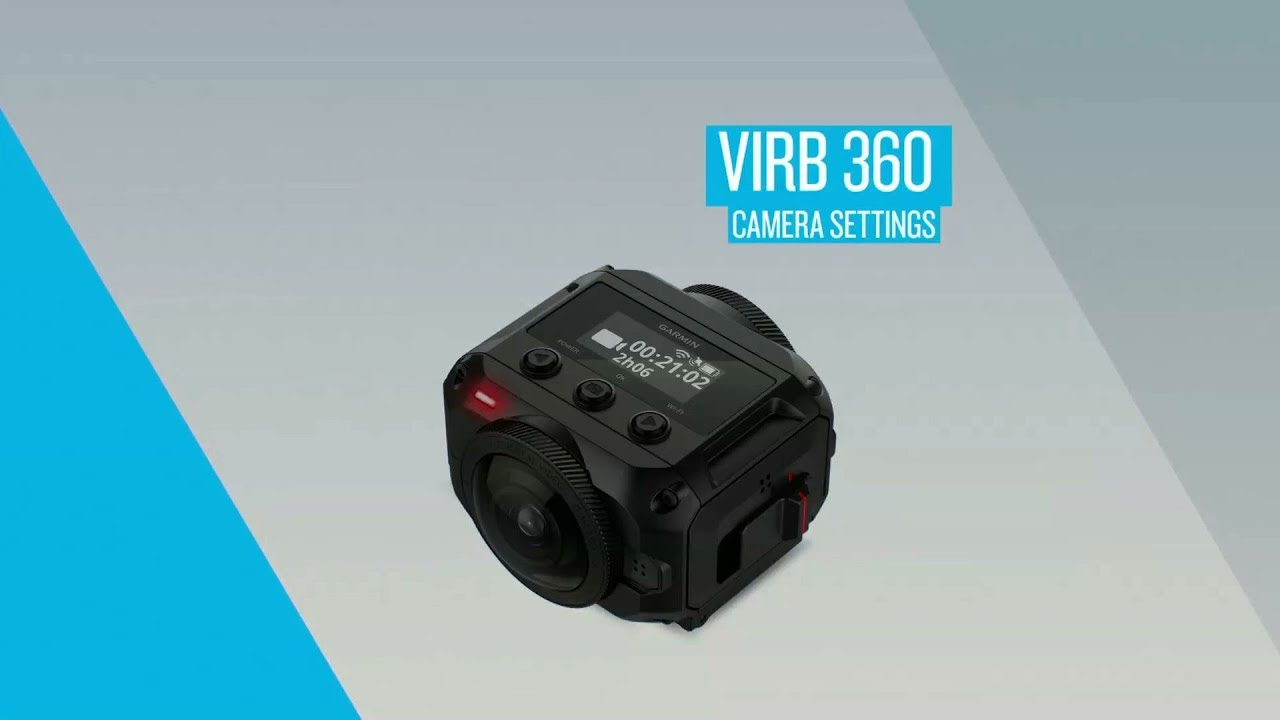 garmin virb 360 camera settings youtube rh youtube com Garmin 360 Review 360 Garmin Updates