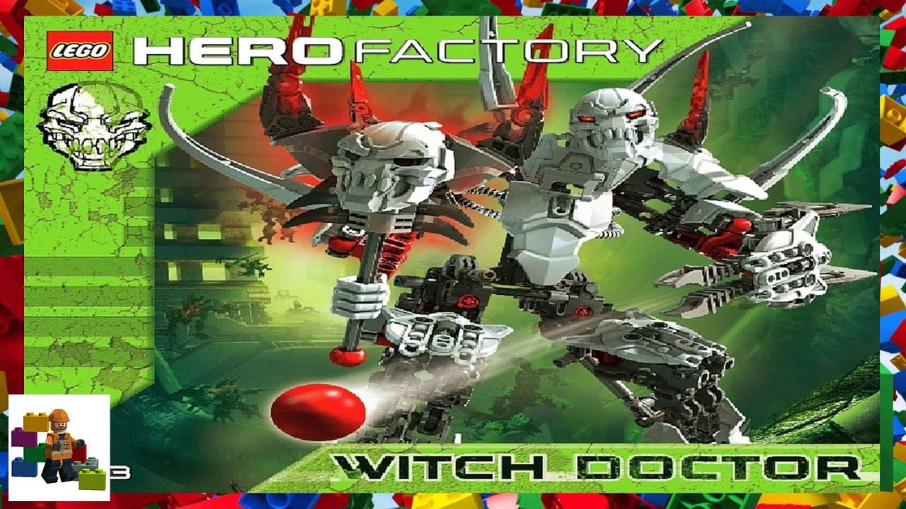 hero factory witch doctor instructions