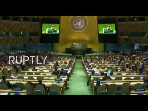 LIVE: World leaders take part in UNGA morning session - Final day