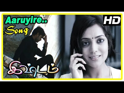 Ishtam Movie Scenes | Aaruyire song | Vimal and Nisha remember each other | Pragathi | Santhanam