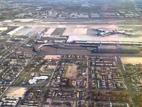 aereal view of mc carran airport