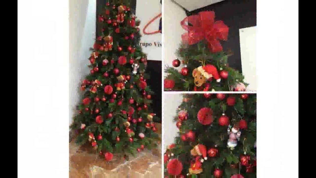 Ideas para decorar oficinas en navidad youtube for Adornos navidenos para oficina