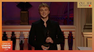 Sam Tutty wins Best Actor in a Musical for Dear Evan Hansen | Olivier Awards 2020 with Mastercard