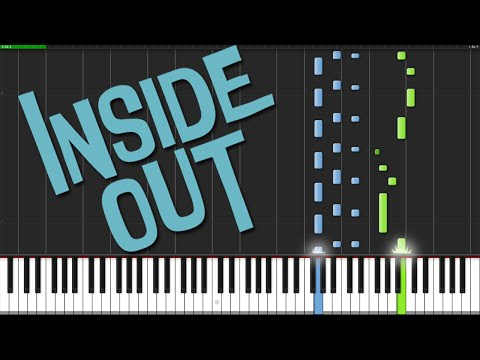 Inside Out Theme [Piano Tutorial] (Synthesia) // Nadav Schneider