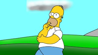 How to Draw Homer Simpson ( Step by Step )