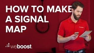 How to create a signal map   weBoost