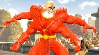 Mortal Kombat Komplete Edition - Shazam Kintaro & Dark Kahn Tag Ladder 4K Gameplay Playthrough