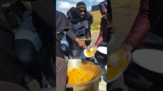 DJ Sbu & DJ Rhee feed the homeless people of Johannesburg every Friday morning.