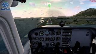 Flight Simulator aterrizaje en Cessna