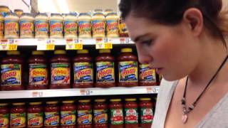 Stephanie Pete, a recipient of SNAP benefits, goes grocery shopping