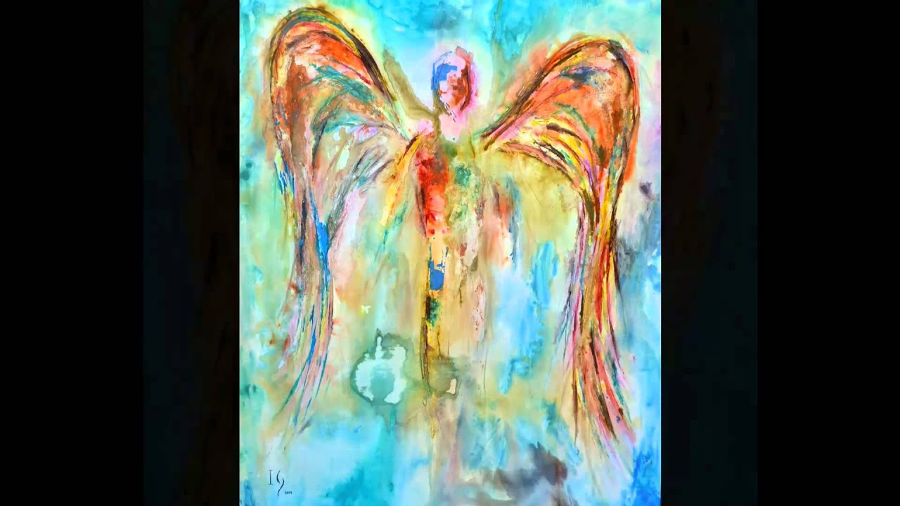 Abstract Angel Paintings