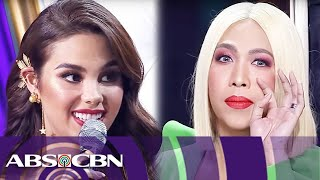 Download Vice Ganda's fun-filled talk with Catriona Gray | Miss Universe 2018 Homecoming Mp3 and Videos