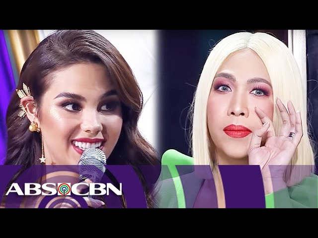 Vice Gandas Fun Filled Talk With Catriona Gray Miss Universe 2018 Homecoming