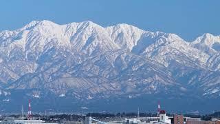 立山連峰をNikon D850で4K撮影してみた