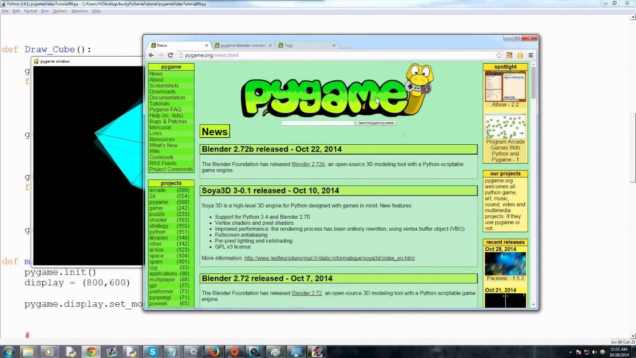 Pygame (Python Game Development) Tutorial - 100 - Conclusion