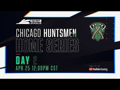 Call Of Duty League 2020 Season   Chicago Huntsmen Home Series   Day 2