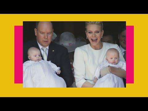 Принц и принцесса Монако. Смотреть как празднуют День рождения в Монако