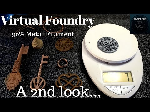 Virtual Foundry 90% Metal Filament...a 2nd look