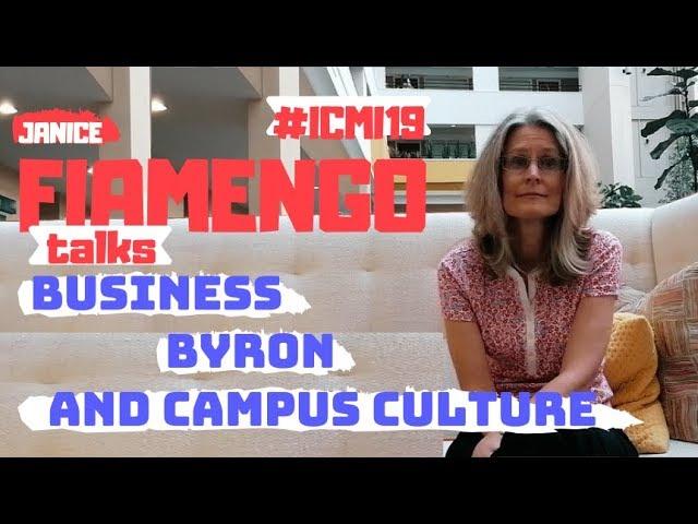 Janice Fiamengo Talks Business, Byron and Campus Culture