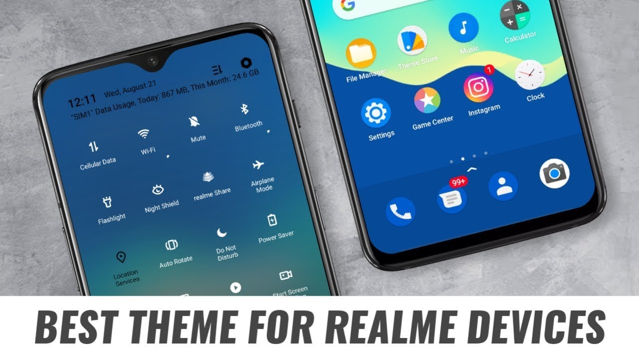 No 1 Best Theme for Any Realme Devices   Most Awaited Realme