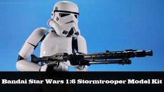 Bandai Star Wars 12-inch Stormtrooper Model Kit Build and Review