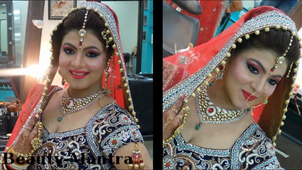 indian fusion wedding makeup - youtube