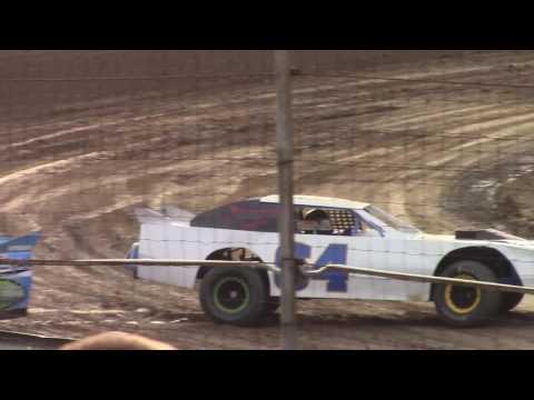 Hummingbird Speedway (7-15-17): Street Stock Heat Race #1