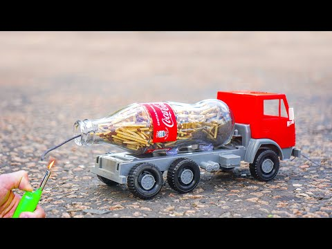 EXPERIMENT: Track Powered by Coca Cola with Matches
