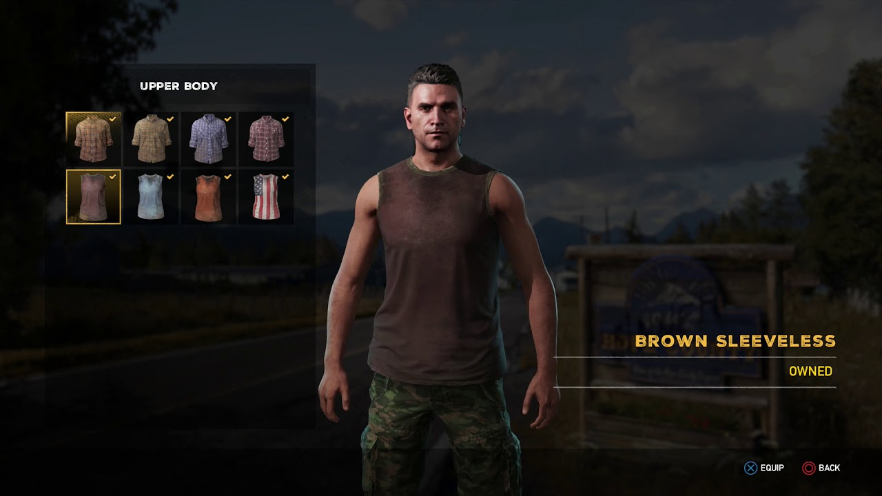 Far Cry 5 Character Customization Change Clothes Youtube