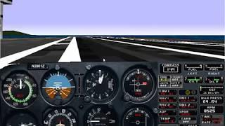 Microsoft Flight Simulator for Windows 95 | Challenge: Carrier Landing (Basic) | Cessna 182RG