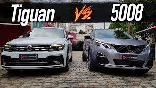Comparativo Tiguan Allspace R-Line X Peugeot 5008 Ft. Fullpower  | Top Speed