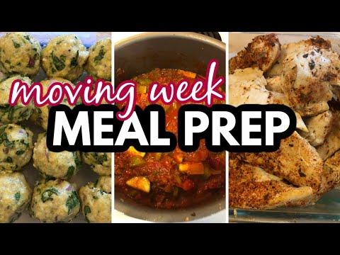 moving-week-meal-prep-|-chunky-turkey-keto-chili,-chicken-parm-meatballs,-blackened-chicken-tenders