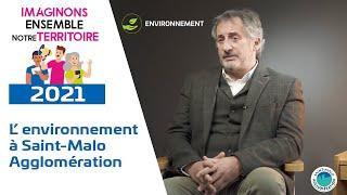 L' environnement à Saint-Malo Agglomération
