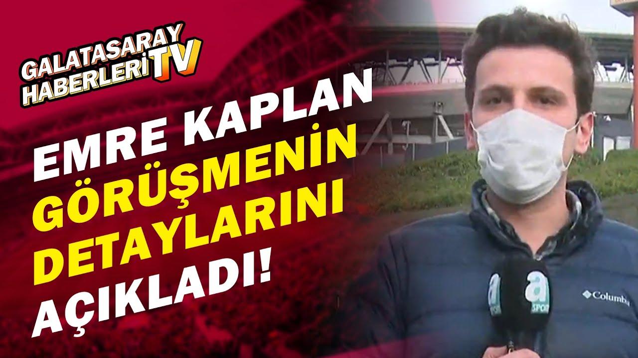 Emre Kaplan, Mustafa Cengiz ve Fatih Terim'in Görüşmelerinin Detaylarını Açıkladı!