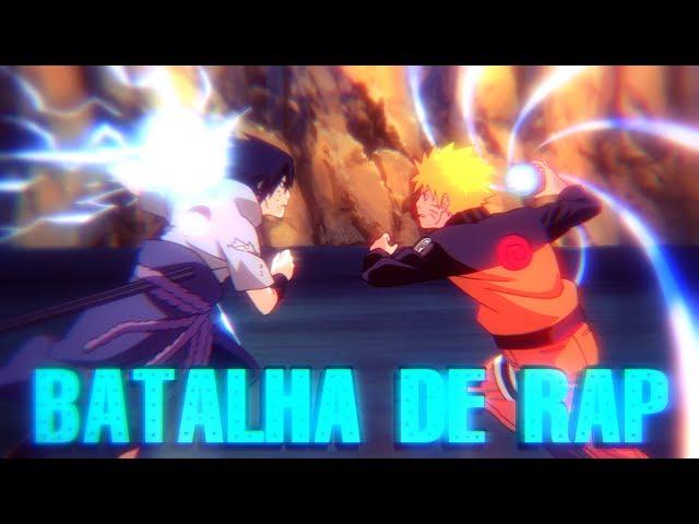 NARUTO VS SASUKE - BATALHA DE RIMAS // Minato Depressivo