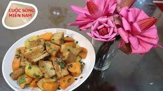 Các món chay: khoai lang kho ngon không cần bí quyết #namviet