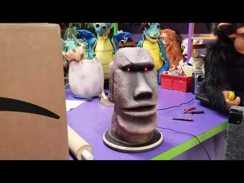 AI ATTRACTIONS - MOAI TIKI - Talking Tiki From Axtell Expressions
