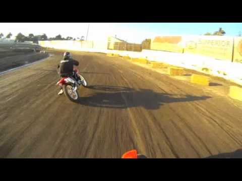 Ventura Raceway 250cc Flat Track Main Event  9-3-2011