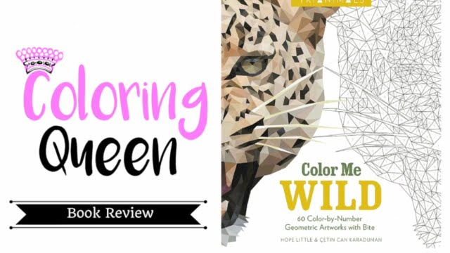 Color Me Wild Coloring Book Review Youtube