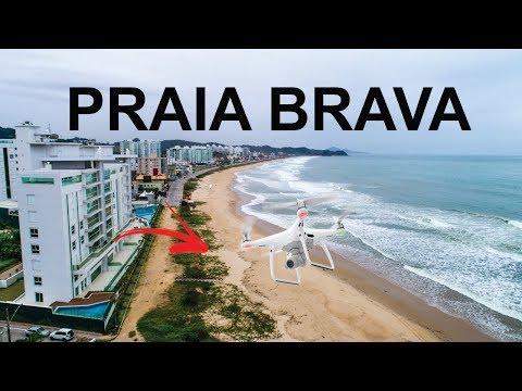Praia Brava de Itajaí - JC Drones em 4K