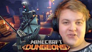 ЗАЛЫ ВЫСОКОБЛОЧЬЯ   Пятёрка Играет в Minecraft Dungeons