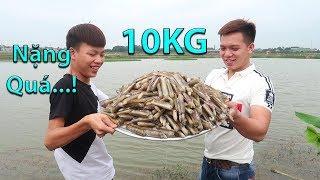 Hữu Bộ | Làm Mâm Ốc Móng Tay Xào Bơ Tỏi Khổng Lồ 10KG