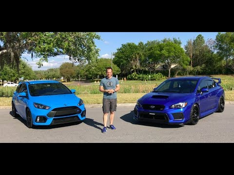 Which SHOULD you BUY? 2018 Subaru WRX STI or Ford Focus RS - Raiti's Rides