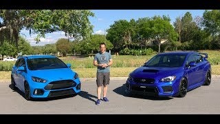 Which SHOULD you BUY? 2018 Subaru WRX STI or Ford Focus RS - Raiti's Rides